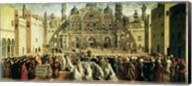 St. Mark Preaching in Alexandria, Egypt Fine-Art Print
