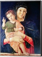 The Virgin and Child Blessing Fine-Art Print