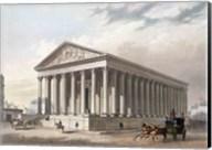 Exterior view of the Madeleine, Paris Fine-Art Print