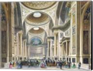 Interior of La Madeleine, Paris Fine-Art Print