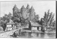 The Castle of Combourg Fine-Art Print