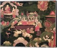 Parinirvana, from 'The Life of Buddha Sakyamuni' Fine-Art Print
