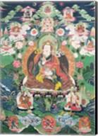Tanka of Padmasambhava Fine-Art Print