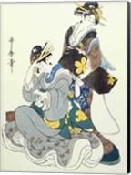 Two Female Figures Fine-Art Print
