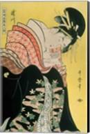 Takigawa from the Tea-House, Ogi Fine-Art Print