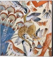 Nebamun hunting in the marshes Fine-Art Print