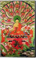 Scenes from the life of Buddha Fine-Art Print