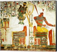The Gods Osiris and Atum, from the Tomb of Nefertari Fine-Art Print