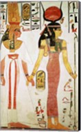 Isis and Nefertari, from the Tomb of Nefertari Fine-Art Print