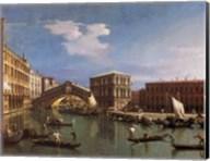 The Rialto Bridge, Venice Fine-Art Print