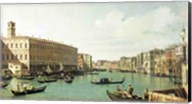 The Grand Canal from the Rialto Bridge Fine-Art Print