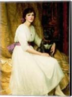 Portrait of Miss Dorothy Dicksee Fine-Art Print