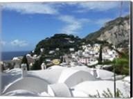 Capri White Roof Fine-Art Print