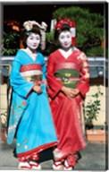 Portrait of two geishas Fine-Art Print