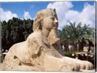 Alabaster Sphinx, Memphis, Egypt Fine-Art Print