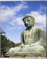 Statue of Buddha, Kamakura, Japan Fine-Art Print
