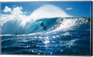 Surfer on the ocean Fine-Art Print