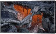 Kilauea Lava Flow Kalapana Hawaii USA Fine-Art Print