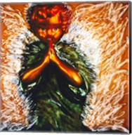 Praying little angel Fine-Art Print