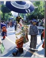 Geisha Parade, Asakusa, Tokyo, Japan Fine-Art Print