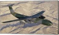 Lockheed C-141B Starlifter Cargo Plane Fine-Art Print