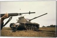M-14 Rifle M60 Tank Fine-Art Print