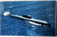 Soviet Victor 1 Class Nuclear-Powered Attack Submarine Fine-Art Print