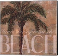 Beach Palm Fine-Art Print
