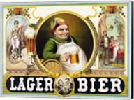 Lager Bier Fine-Art Print