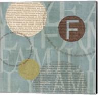 Circle of Words - Family Fine-Art Print