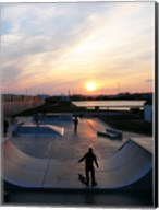 Skate Park, Hove Lagoon, UK Fine-Art Print