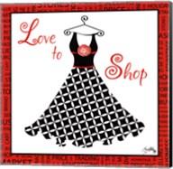 Love to Shop Fine-Art Print