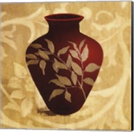Red Vase II Fine-Art Print