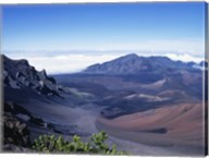 Haleakala Crater Haleakala National Park Maui Hawaii, USA Fine-Art Print