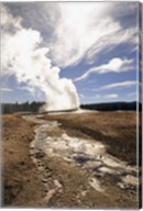 Old Faithful Geyser Yellowstone National Park Wyoming USA Fine-Art Print
