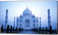 Facade of the Taj Mahal, India Fine-Art Print