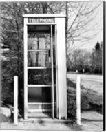 Telephone booth by the road Fine-Art Print