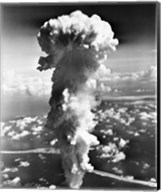 Clouds formed by an atomic explosion Fine-Art Print