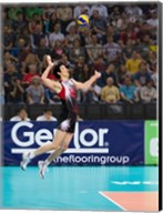 Volleyball Jump Serve Fine-Art Print