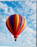 a hot air balloon in the sky, Albuquerque, New Mexico, USA Fine-Art Print