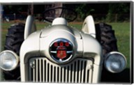 Ford Tractor, model 600 made in 1954, close-up Fine-Art Print