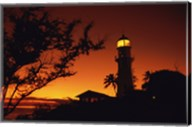 Diamond Head Lighthouse Oahu Hawaii USA Fine-Art Print