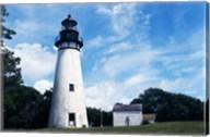 Amelia Island Lighthouse Fernandina Beach Florida USA Fine-Art Print