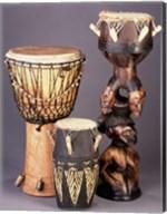 West African Drums Fine-Art Print