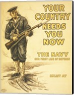 Your Country Needs You Now Fine-Art Print