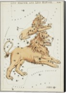 Leo Major and Leo Minor Constellation Fine-Art Print