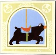 Bear Carousel Fine-Art Print