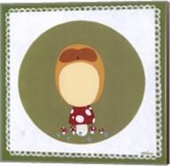 Owl Cameo II Fine-Art Print