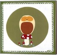 Owl Cameo III Fine-Art Print
