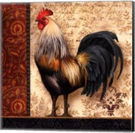 French Rooster I Fine-Art Print